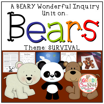 Bears - Survival Inquiry {A Months Worth of Beary Good Learning}
