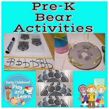 Bears Activity Packet