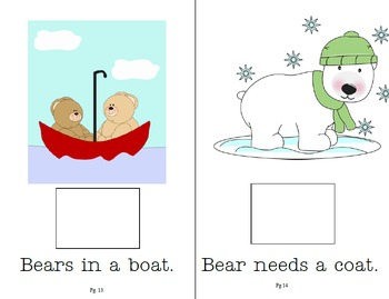 Bears!  An Interactive and Adaptive Book