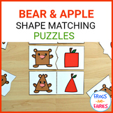 Bears & Apples Shape Matching Puzzles