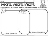 Bears, Bears, Bears - Comparing Two Stories
