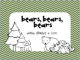 Bears, Bears, Bears {Grizzlies & Polar Bears}