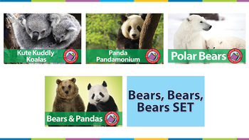 Bears, Bears, Bears SET Gr. 1-2