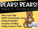 Bears! Bears! Math and Literacy Pack