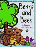 Bears & Bees: A Spring Printables Freebie
