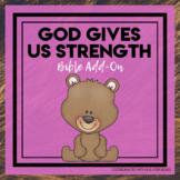 Bears Bible Add-On Mini Unit Lessons