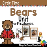 Bears Circle Time Unit