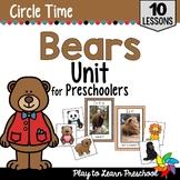 Bears Circle Time Unit