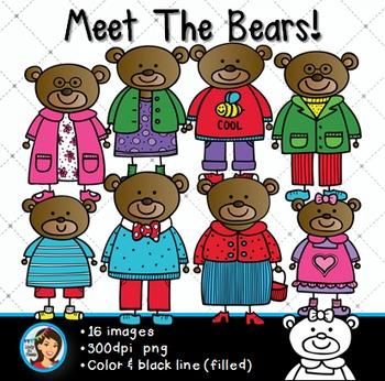 Clip Art Bears