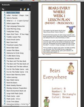 Bears Everywhere Lesson Plan and Worksheets
