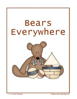Bears Everywhere Magnet Sheets