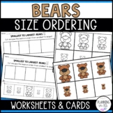 Bears Size Ordering (From Smallest to Largest)