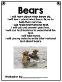 Bears- Informational Text Unit (Next Generation Science)