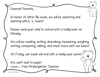 Bears {Literacy, Math, and More!}