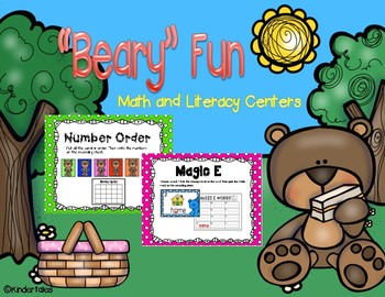 Bears: Math and Literacy Activities