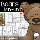 Bears Nonfiction Informational Text Unit with Digital Resource Boom Card Deck