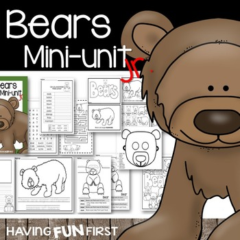 Bears: Mini-Unit Jr.