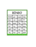 "Fun with Words:  ""Bear's New Friend"" Single Syllable Onset-Rime Blending BINGO"