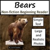 Bears: Non-fiction animal e-book for beginning readers