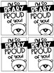 Beary Proud Brag Tags FREEBIE