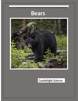 Bears (700L) - Science Informational Text