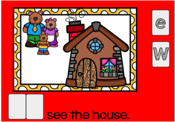 Bears Sight Word Emergent Reader Boom Cards {We}