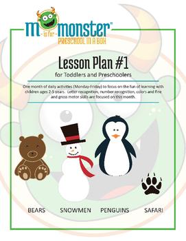 Bears, Snowmen, Penguins & Safari