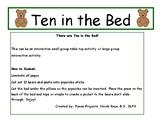 Bears: Ten in a Bed