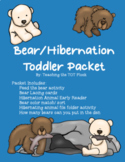 Bears Toddler Packet