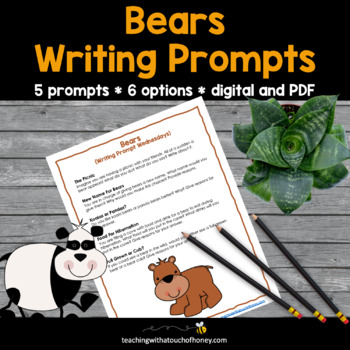 Bears Writing Prompts