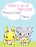 Bears and Bunnies Preschool Pack