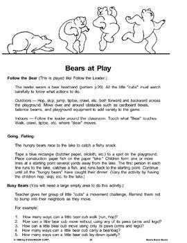 Bears at Play