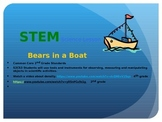 Bears in a Boat Sink or Float Boyancy Powerpoint