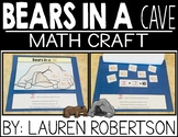 Bears in a Cave Addition Math Craft