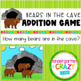 Bears in the Cave Addition Activity Set