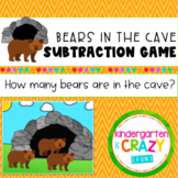 Bears in the Cave Subtraction Activity Set