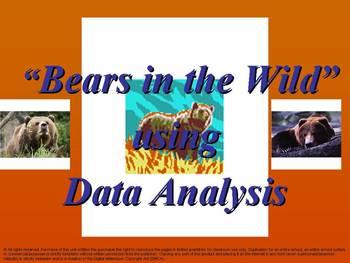 Bears in the Wild: using Data Analysis