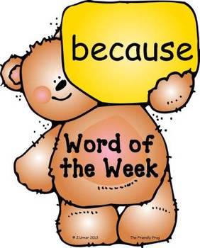 Bears 'n' Balloons Second Grade Word Wall