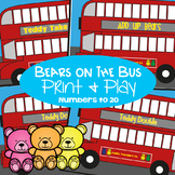 Addition and Subtraction Games - Bears on the BIG Bus