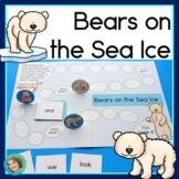 Sight Word Game with Polar Bears