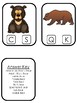 Bears themed Beginning Sounds Clip It Game.Printable Preschool Game