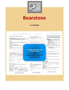 Bearstone Complete Literature and Grammar Unit