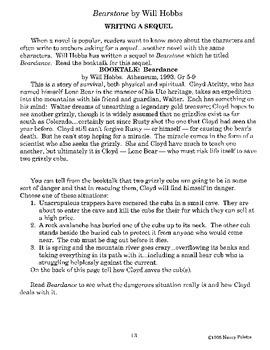 Bearstone Literature Guide