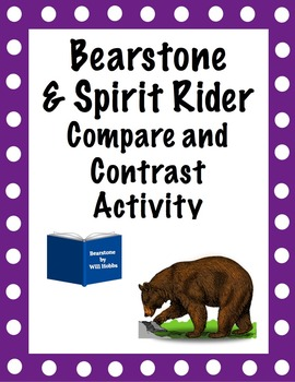 Bearstone and Spirit Rider Compare/Contrast Activity