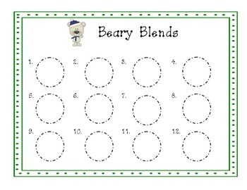 Beary Blends