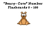 """Beary-Cute"" Number Flashcards 0 - 100"