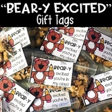 Beary Excited Back to School Gift Tag