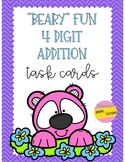 Beary Fun Addition Task Cards