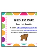 Beary Fun Bear Unit Freebies
