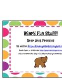 Beary Fun Bear Unit Freebies